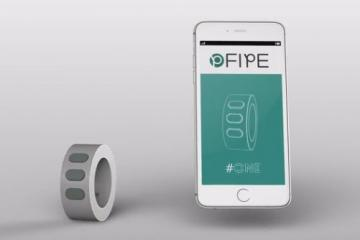 FIPE #one: iOS / Android Compatible Remote Control for Your Bike