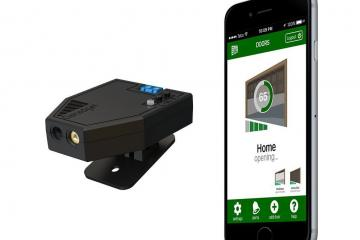 Garadget Garage Door Opener Integrates with Wearables