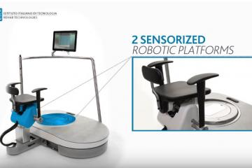 Hunova Robotic Rehab System with Wearable Trunk Sensor