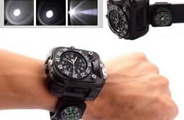 Survival-Compass-Watch-with-Flashlight