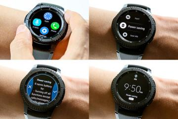 Samsung Gear S3 with 1.3″ Display, Tizen