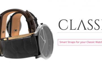Classi Smart Strap for Your Classic Watch with Fitness Tracking