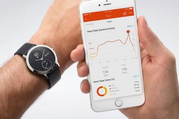 Withings Steel HR Activity Tracking Watch with Heart Rate Monitor