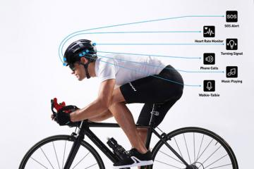 LIVALL BH81H Smart Cycling Helmet with HRM