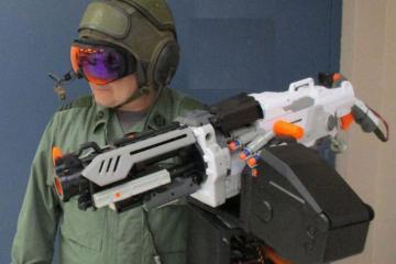 HUD Control for Nerf Vulcan Sentry Gun