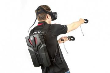MSI VR One Backpack PC for HTC Vive