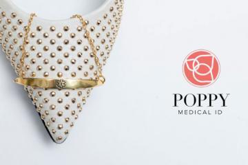 Poppy Medical ID Bracelet