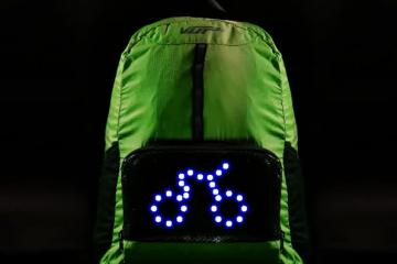 VUP Plus Cycling Backpack Keeps You Visible
