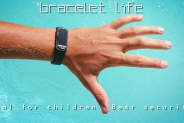 B.Life Lifesaving Wearable Stops Drowning