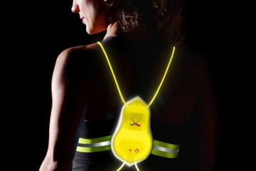 Tracer360 Illuminated and Reflective Vest