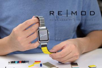 REMOD Reversible Watchband for Apple Watch & Pebble