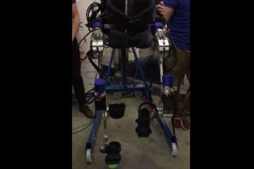 Project MARCH: Exoskeleton for Paraplegics