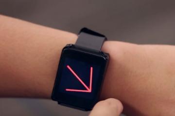 AuraSense: Around-Smartwatch On-Skin Interaction