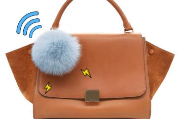 Power PomPom 2.0: Mirror, Bluetooth Tracker, Charger for Your Bag