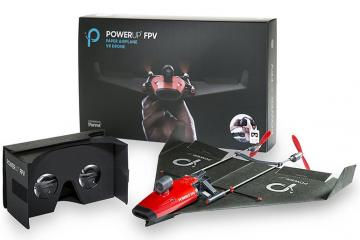 PowerUp FPV Paper Airplane with VR Control