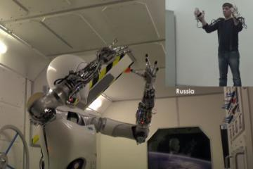 AILA/CAPIO Exoskeleton for Remote Control of Robots