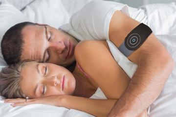 Anti Snore Wearable Stops Snoring with Vibration