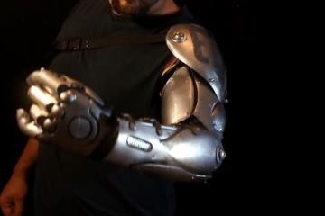DIY Full Metal Bionic Arm Armor