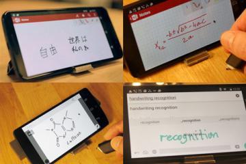 Phree Smartphone Input Device Lets You Write Anywhere