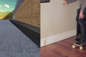 DIY: Arduino VR Skateboard