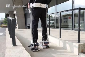 Servus-RGS-Adapt Exoskeleton for the Disabled