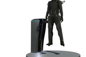 HaptX Flexible Haptic Textile for Virtual Reality