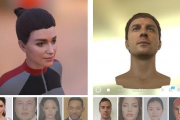 Loom.ai Turns Selfies Into 3D Avatars