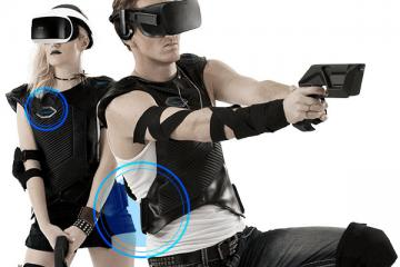 BluAtom VR Vest & Gun Controller