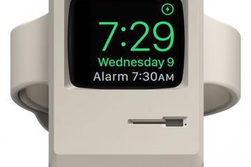 elago W3 Stand Turns Your Apple Watch Into a Mini Macintosh 128K