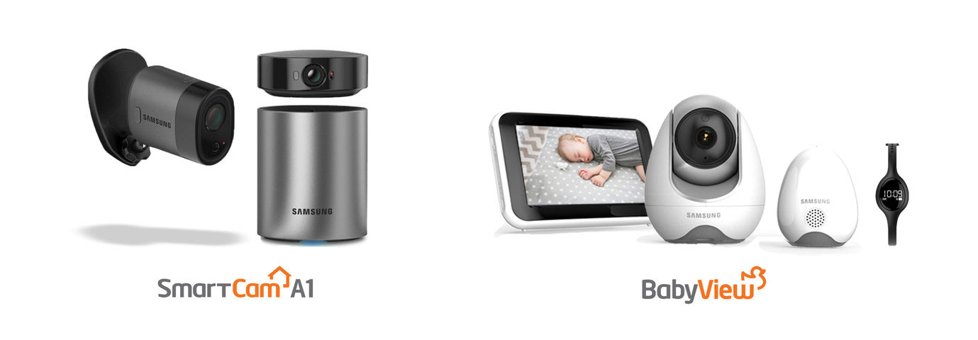 babyview sew 3055w baby monitor with bluetooth watch cool wearable. Black Bedroom Furniture Sets. Home Design Ideas