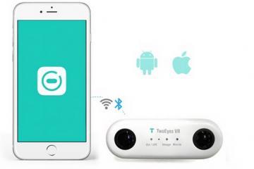 TwoEyes: Binocular VR 360 Camera