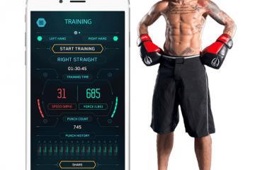 StrikeTec Smart Boxing Sensor