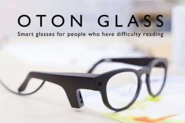 OTON GLASS: Smart Glasses for Dyslexic Users