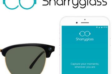 Sharryglass Sunglasses with 5MP Camera