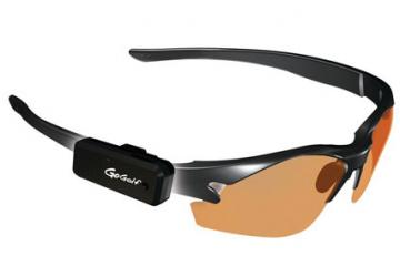 GoGolf GPS: Tiny Audible Golf GPS Clips to Your Sunglasses