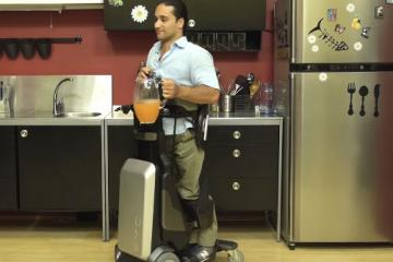 Tek Robotic Mobilization Device Lets Wheelchair Users Stand