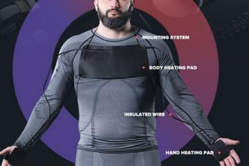 HEAT-O: Wearable Modular Heating System