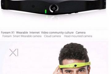 Foream X1 Smart Wearable Camera