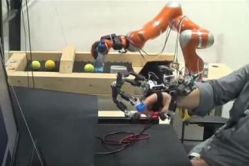 HEXOTRAC Exoskeleton Lets You Teleoperate Robots