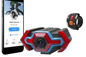 Hexagon WiFi Camera, Safety Signals, Activity Tracker for Cyclists