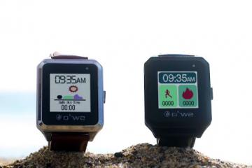 O'We Smartwatch Is a Fitness, UV Tracker