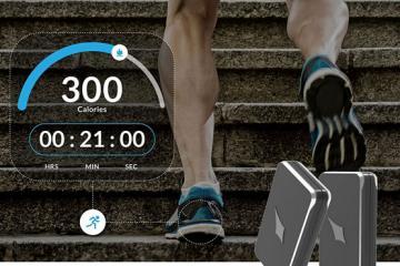 Lechal Smart Navigation & Fitness Tracking Buckles