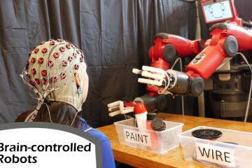 EEG Cap Used To Correct Brain Controlled Robots