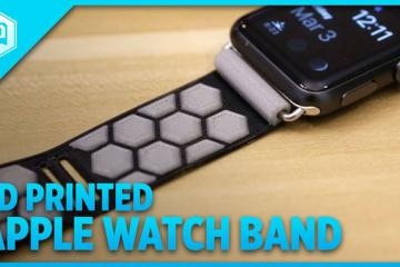 DIY: 3D Print a Band for Apple Watch