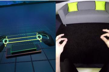 Leap Motion: Blocks on Mobile VR