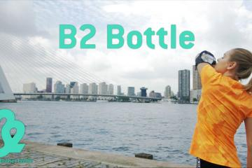 B2: Arm Fitted Wearable Sports Bottle