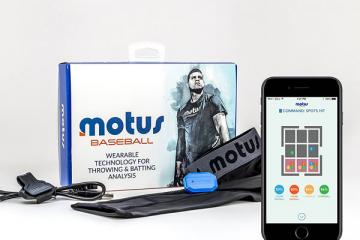motusBASEBALL Throwing and Batting Baseball Analyzer