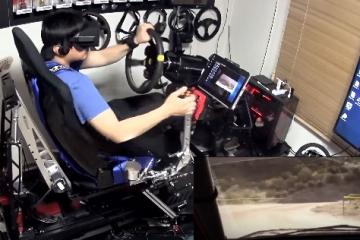 R-craft Motion Simulator for VR Racing