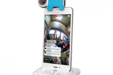 Giroptic Livestreaming 360° Camera for iOS Devices