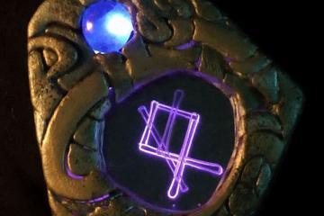 DIY: Glowing Viking Rune WayFinder